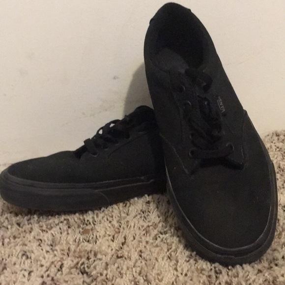 37a5b64c492 Vans Other - Vans authentic black black gum